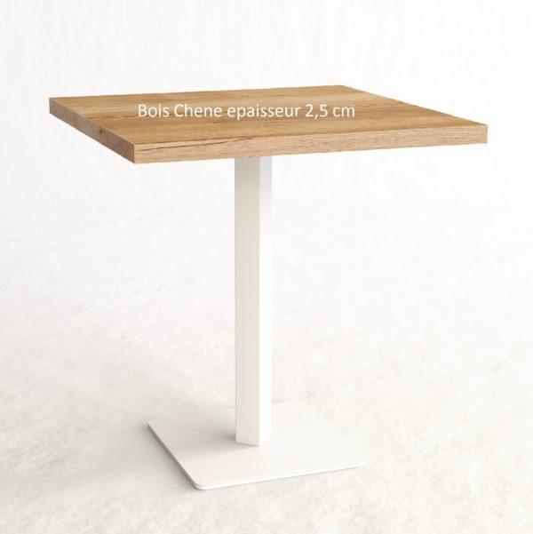 Plateau de table en bois massif