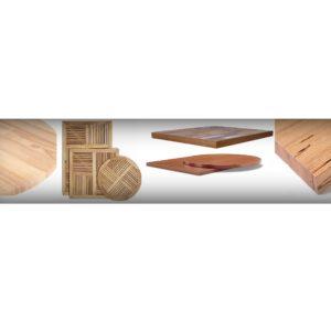 Plateaux de tables solaria