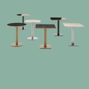 Piètements de tables à manger H=75cm